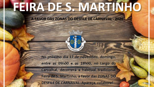 Feira de São Martinho - Carnaval 2020